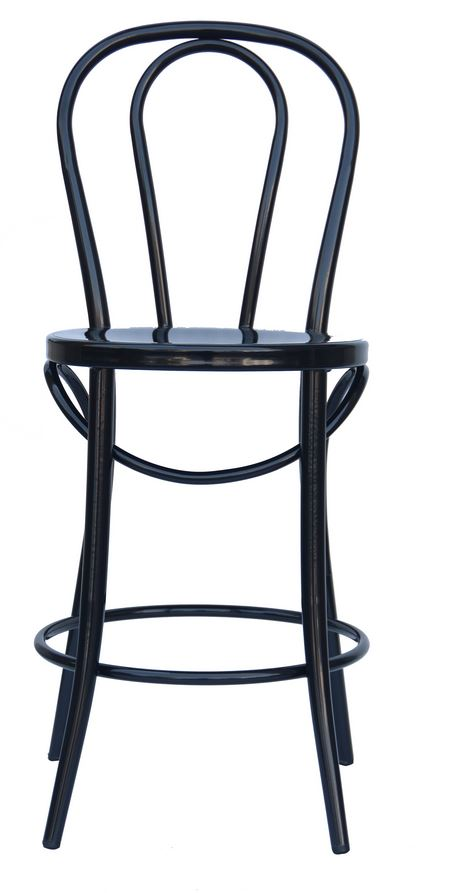 "Bistro 24"" Counter Stool in Black"