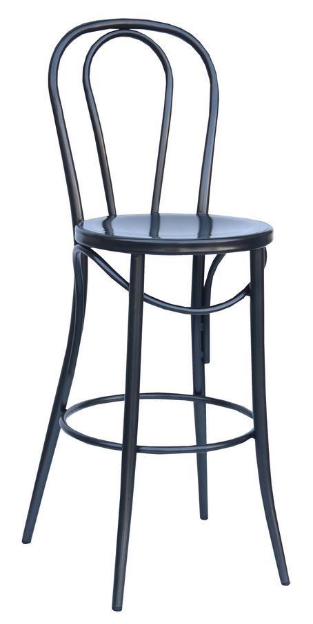 Bistro 24″ Counter Stool: Charcoal (2411502)