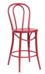 Bistro 24″ Counter Stool: Red (2411602)