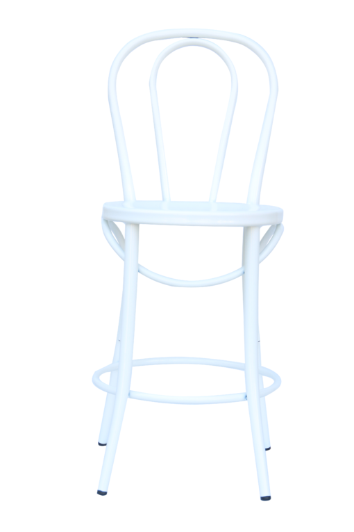 "Bistro 24"" Counter Stool - White"